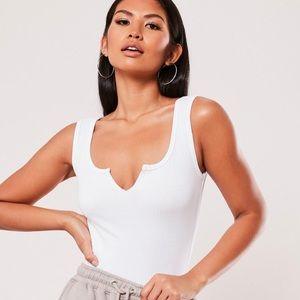 NWT ⭐️ White Bodysuit